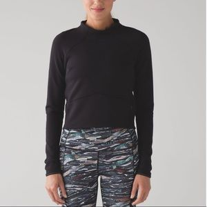 Lululemon Hill and Valley Mock Neck Crop Top 4